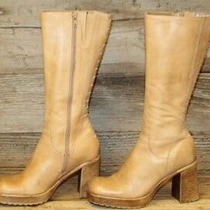 🎉Steve Madden🎉 Tall Leather Vintage Boots
